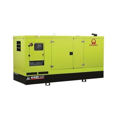 220 kVA Volvo Silent Diesel Generator - Pramac GSW220V Genset