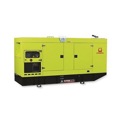 275 kVA Perkins Silent Diesel Generator - Pramac GSW275P Genset