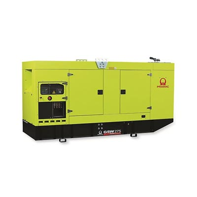 275 kVA Volvo Silent Diesel Generator - Pramac GSW275V Genset