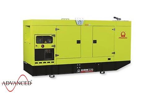 370 kVA Pramac Volvo Silent Canopied Diesel Generator - Pramac GSW370V