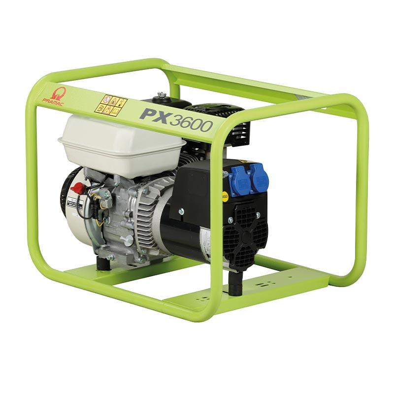 3 kVA Pramac Honda Portable Petrol Generator - PX3600 Genset