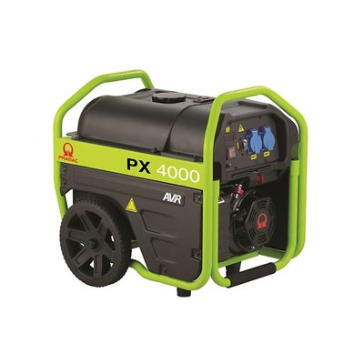 3 kVA Pramac Portable Petrol Generator - PX4000 Genset