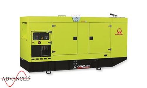 460 kVA Pramac Volvo Silent Canopied Diesel Generator - Pramac GSW460V