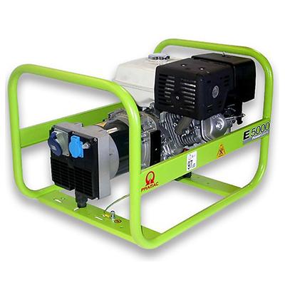 4.2 kVA Pramac Portable Petrol Generator - E5000 Genset