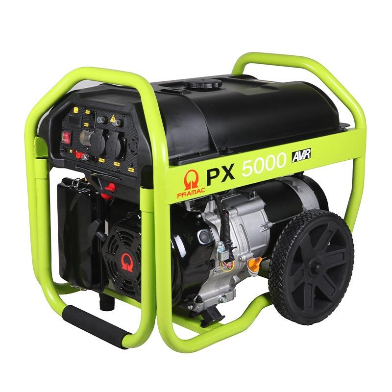4 kVA Pramac Portable Petrol Generator - PX5000 Genset