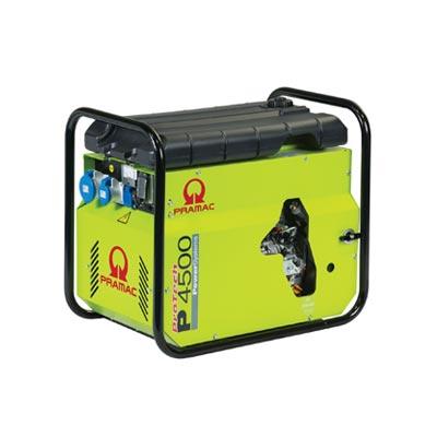 4 kVA Yanmar Portable Recoil Start Diesel Generator - Pramac P4500 Recoil Start Genset