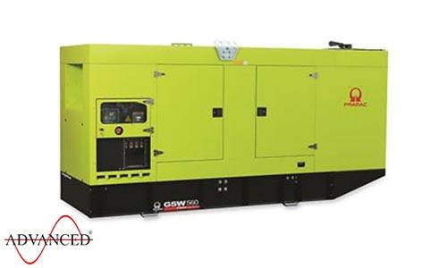 560 kVA Pramac Volvo Silent Canopied Diesel Generator - Pramac GSW560V