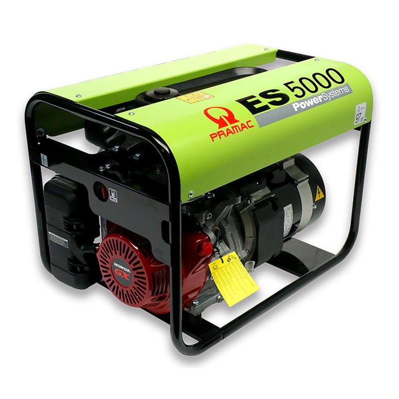 5kVA Honda Portable 3 Phase Diesel Generator, Pramac ES5000 Genset