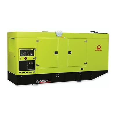 600 kVA Pramac Volvo Silent Canopied Diesel Generator - Pramac GSW600V