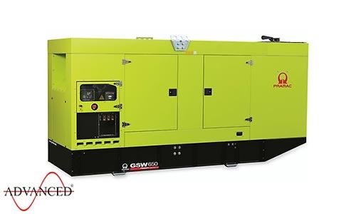 650 kVA Pramac Volvo Silent Canopied Diesel Generator - Pramac GSW650V