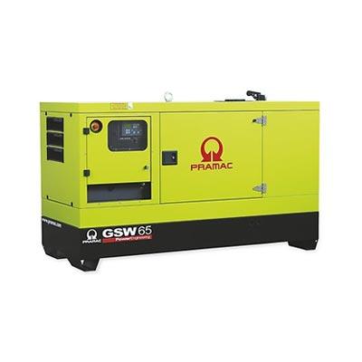 65 kVA Perkins Diesel Generator - Pramac GSW65 Genset