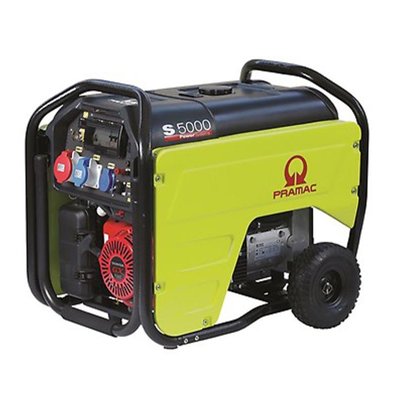 6 kVA Portable Honda 3 Phase Electric Start Petrol Generator - Pramac S5000 3 Phase Genset