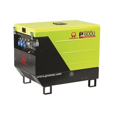 6kVA Yanmar Portable Diesel Generator, Pramac P6000 Genset