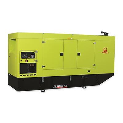 705 kVA Pramac Volvo Silent Canopied Diesel Generator - Pramac GSW705V