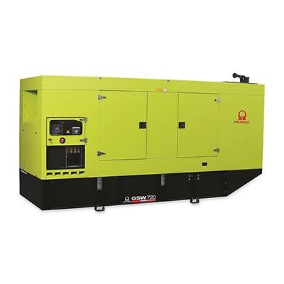 720 kVA Pramac Perkins Silent Canopied Diesel Generator - Pramac GSW720P