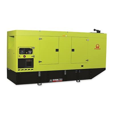 780 kVA Pramac Volvo Silent Canopied Diesel Generator - Pramac GSW780V