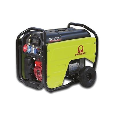 7 kVA Portable Honda Petrol Generator - Pramac S8000 Genset