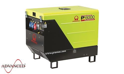 7 kVA Yanmar Portable 3 Phase Diesel Generator - Pramac P6000 3 Phase Genset