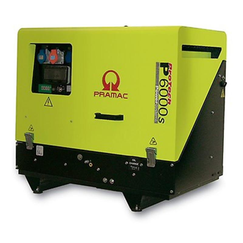 7 kVA Yanmar Portable 3 Phase Diesel Generator - Pramac P6000s 3 Phase Genset