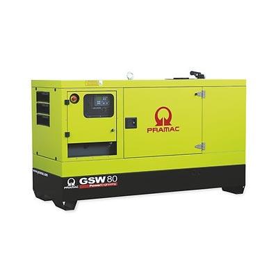 80 kVA Perkins Diesel Generator - Pramac GSW80 Genset