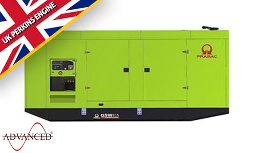 815 kVA Pramac Perkins Silent Diesel Generator - Pramac GSW815P