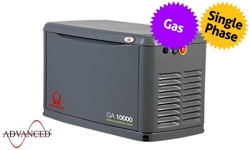 10 kVA Pramac Standby Residential LPG Gas Generator - Pramac GA10000