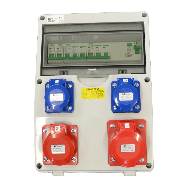Fitted Generator Distribution Board