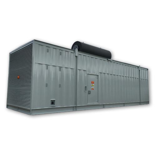 Bespoke Designed & Built Diesel Generator Acoustic Container