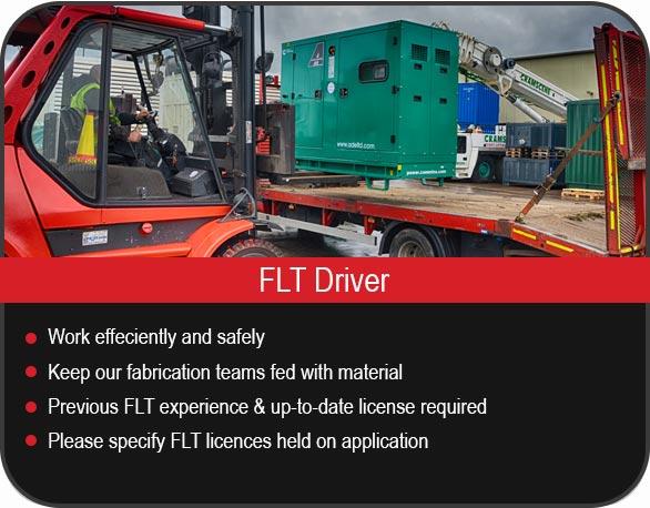 FLT Driver Vacancies
