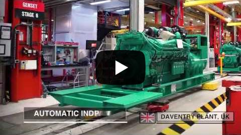 Cummins Power Generation Manufacturing Plants Video