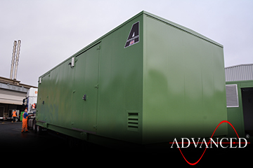 10.5mtr switchgear container