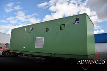 11 Metre long switchgear enclosure