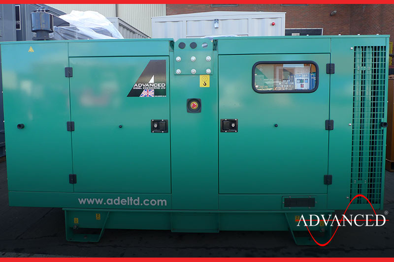African Delivery of a Diesel generator