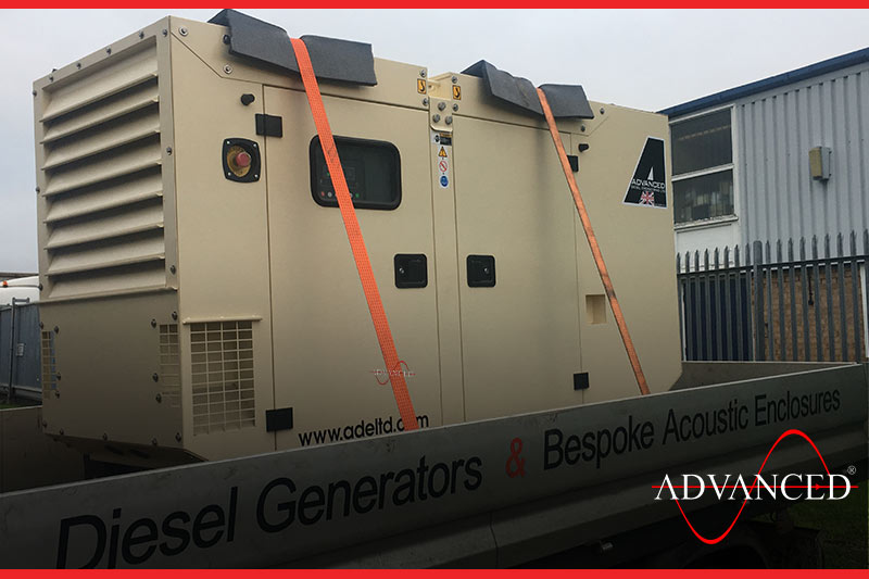 genset loaded and ready to go