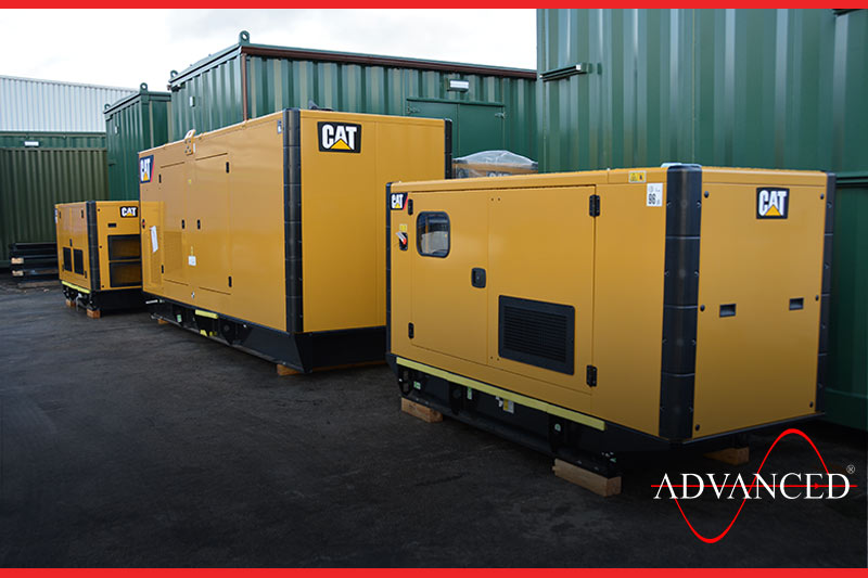 Cat backup generator