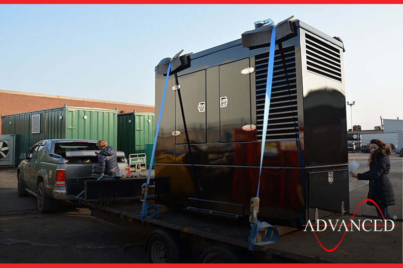 diesel generator to power a circus