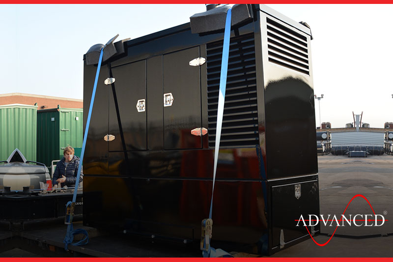 diesel generator going to a circus
