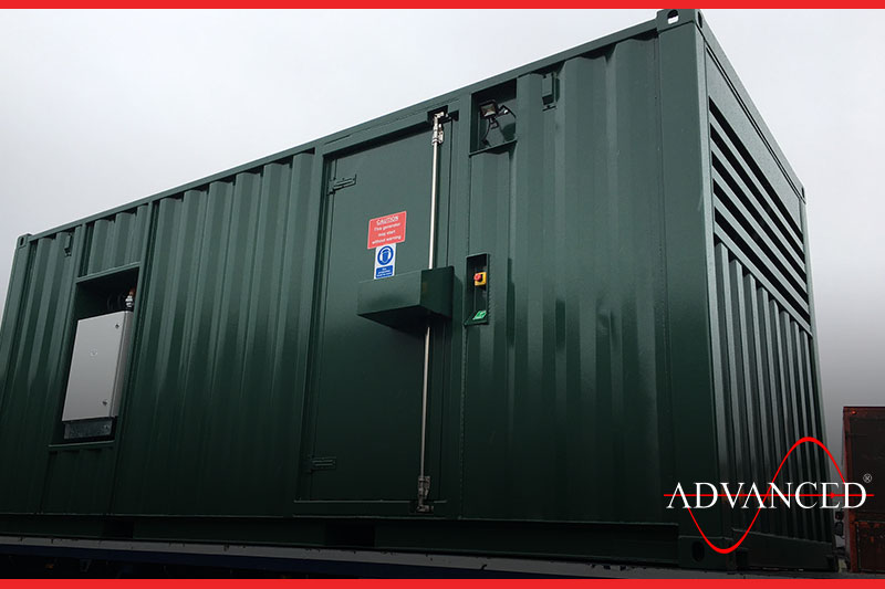 Sound Treatment for Container