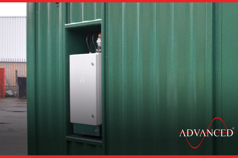 kva generator silent room