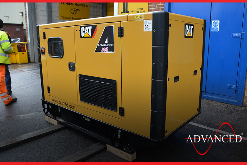 caterpillar diesel genset