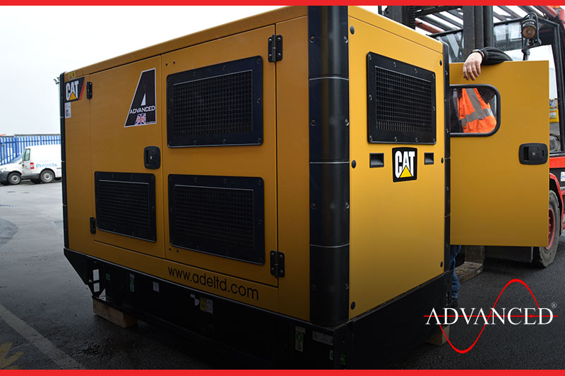 Cat Silent diesel generators