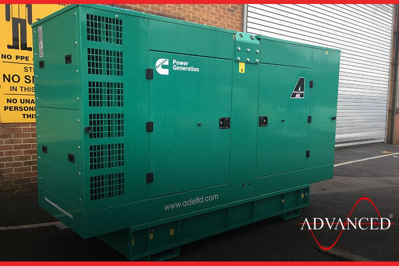 diesel generator for storage solutions