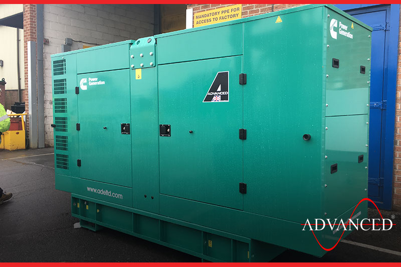 Storage powered by gensets