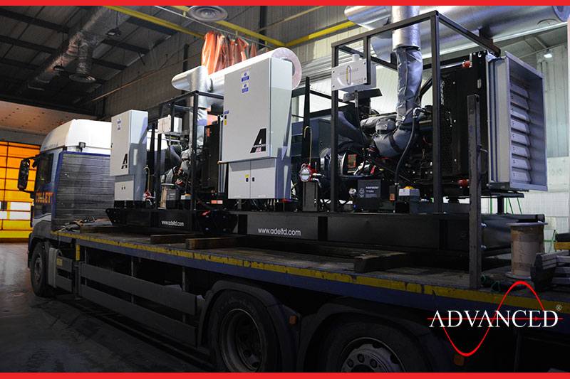 gensets heading to Scotland