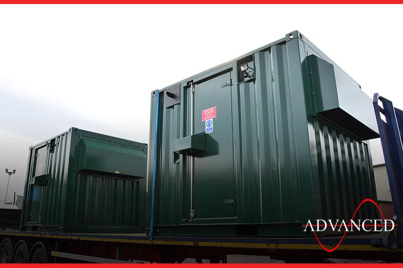 water works diesel generator