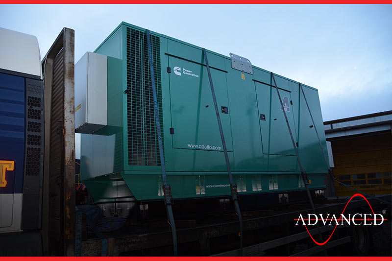 Office Powered by Diesel Generator