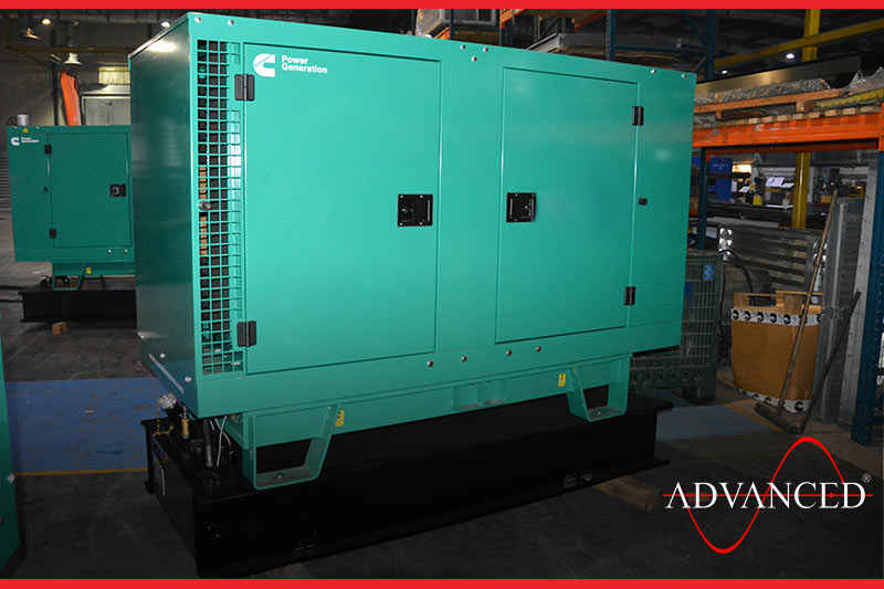 diesel generator on its way to the client