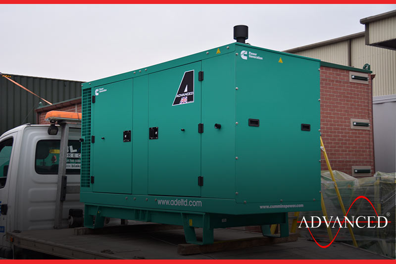 Waste Powered by Diesel Generator