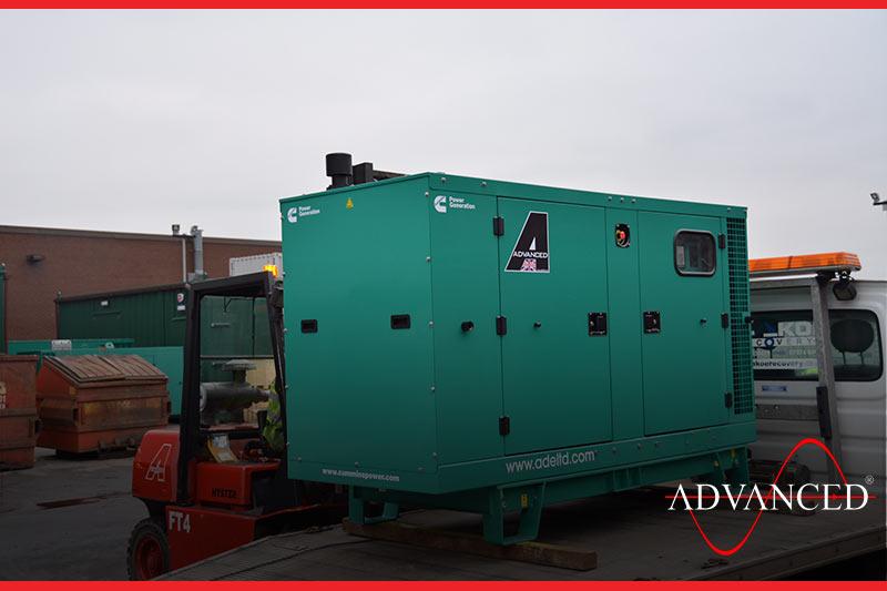 waste powered by diesel
