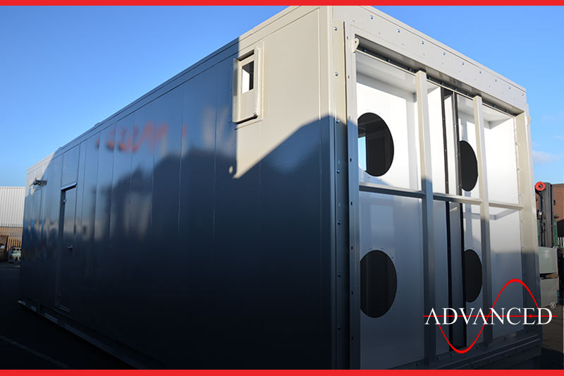 More Modular equipment housing